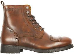 Helstons Travel Aniline Tan Motorcycle Shoes